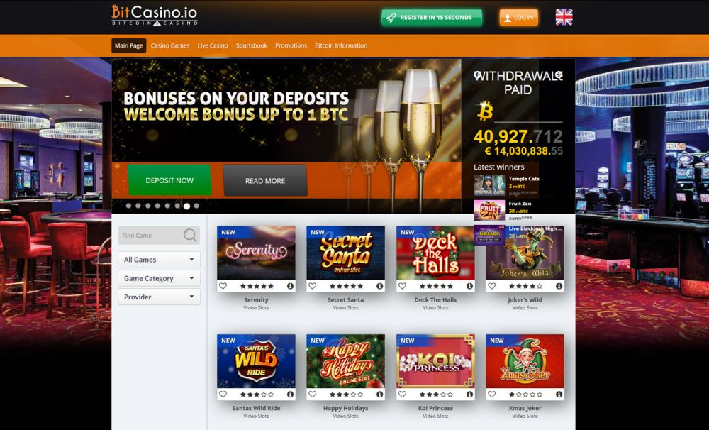 BitCasino Screenshot
