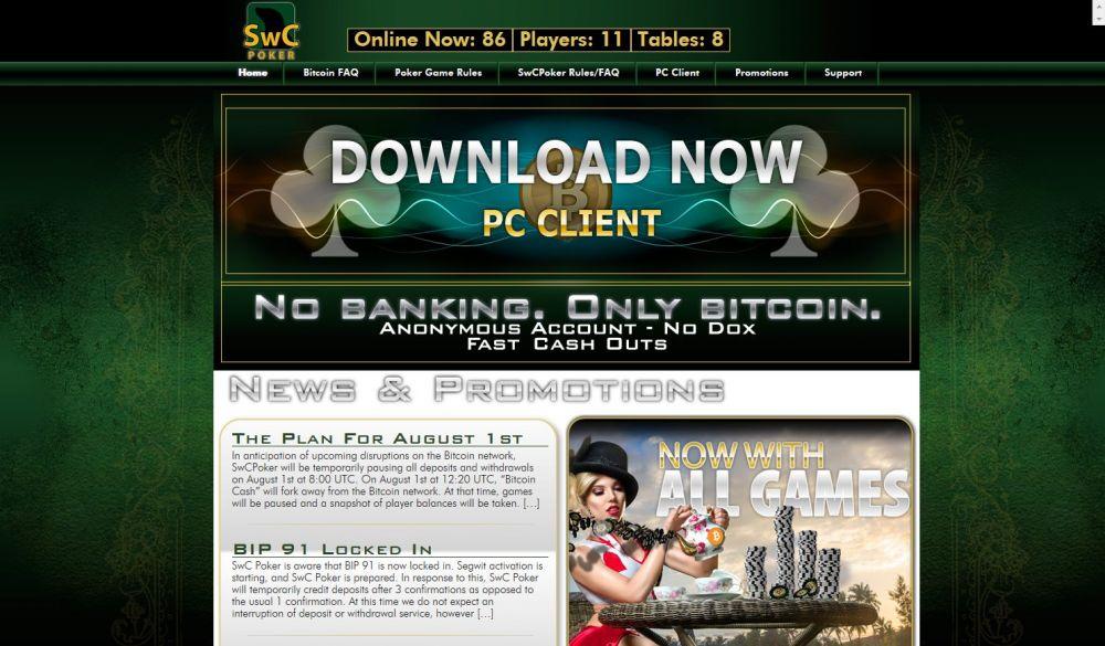 SwC Poker Screenshot